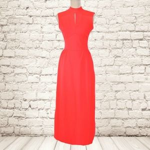 Vintage 70s Bleeker Street Sleeveless Maxi Dress